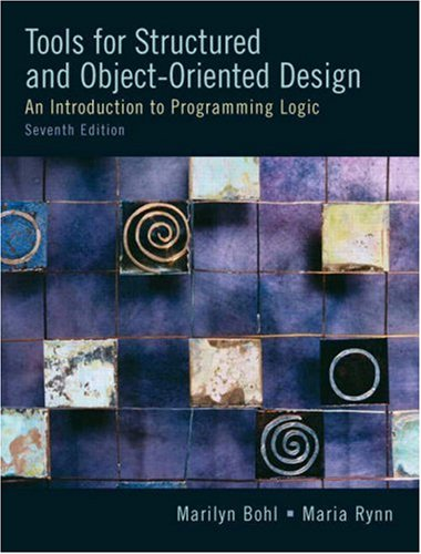 Tools for Structured and Object-Oriented Design  7th 2008 edition cover