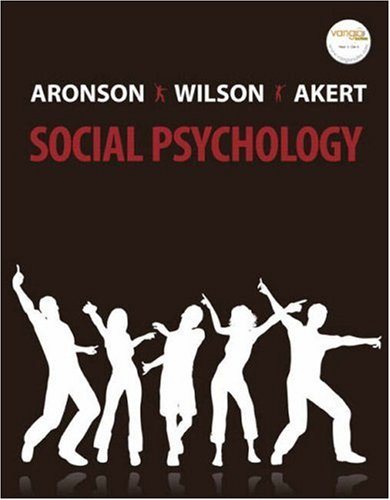 Social Psychology  6th 2007 edition cover