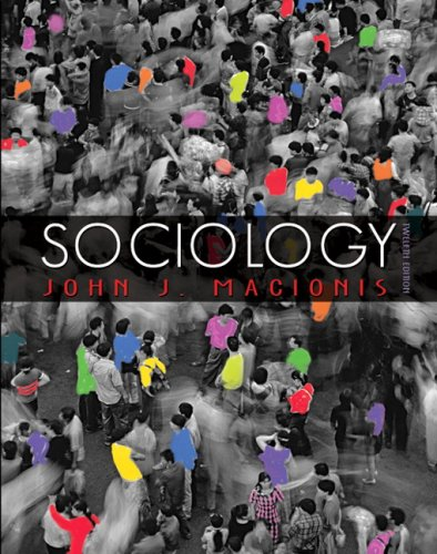 Sociology A Global Introduction 12th 2008 edition cover