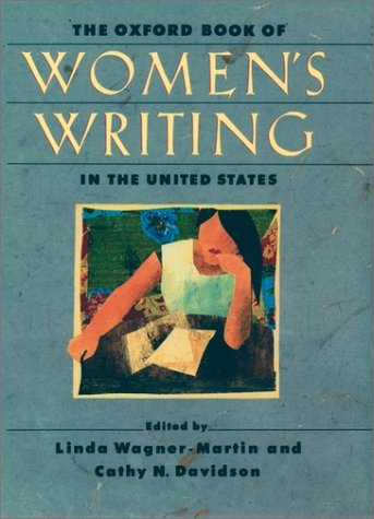 Oxford Book of Women's Writing in the United States   2000 edition cover