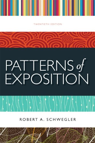 Patterns of Exposition  20th 2012 (Revised) edition cover