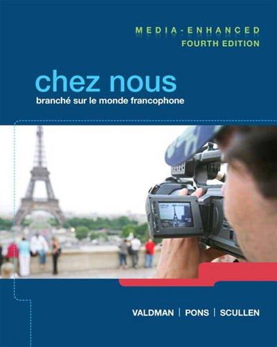 Chez Nous  4th 2014 edition cover