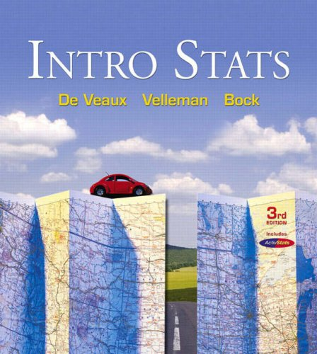 Intro STATS  3rd 2009 edition cover