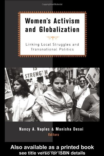 Women's Activism and Globalization Linking Local Struggles and Global Politics  2002 edition cover