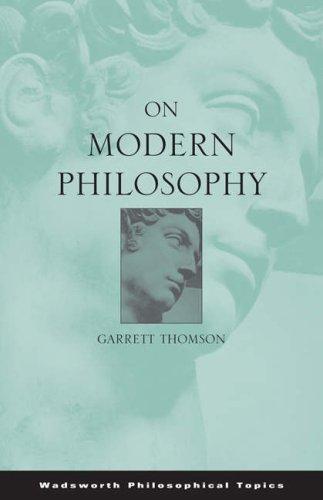 On Modern Philosophy   2004 edition cover