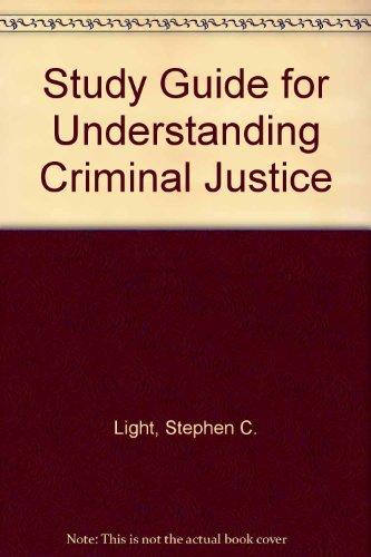 Introduction to Criminal Justice 1st 1999 (Student Manual, Study Guide, etc.) 9780534559458 Front Cover