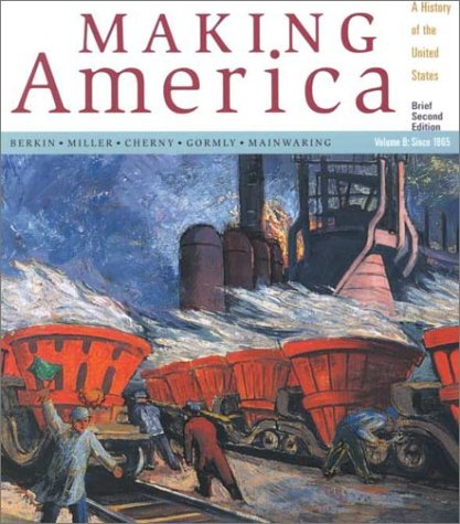Making America with Atlas 2nd 2001 (Brief Edition) 9780618093458 Front Cover