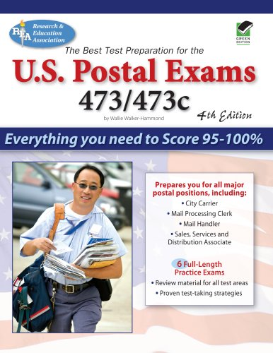 US Postal Exams 473/473c  4th (Revised) 9780738601458 Front Cover