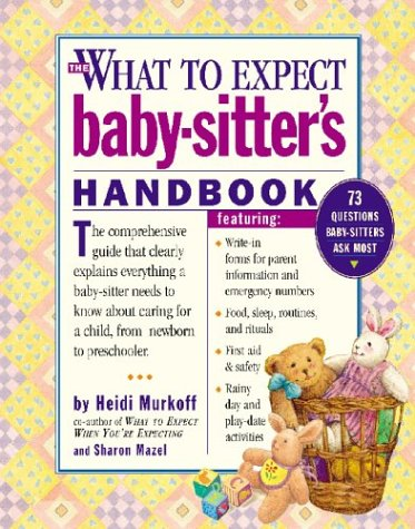 What to Expect Baby-Sitter's Handbook   2003 edition cover