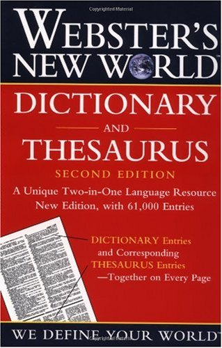 Dictionary and Thesaurus  2nd 2002 (Revised) edition cover
