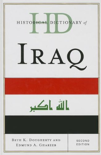 Historical Dictionary of Iraq  2nd 2013 (Revised) edition cover