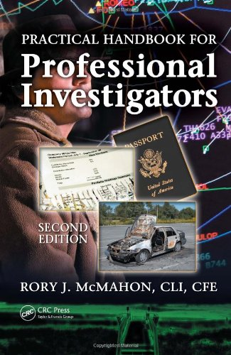 Practical Handbook for Professional Investigators  2nd 2007 (Revised) 9780849370458 Front Cover