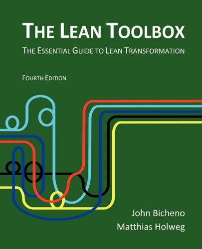 Lean Toolbox The Essential Guide to Lean Transformation 4th 2009 edition cover
