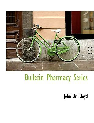 Bulletin Pharmacy Series  N/A 9781113964458 Front Cover