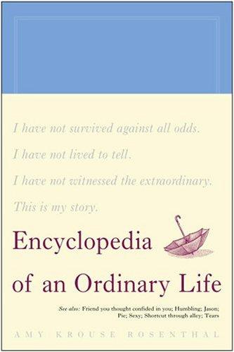 Encyclopedia of an Ordinary Life   2004 edition cover