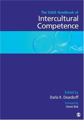 SAGE Handbook of Intercultural Competence   2009 edition cover