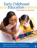 Early Childhood Education Becoming a Professional  2014 edition cover