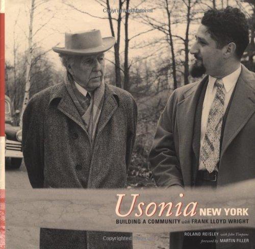 Usonia, New York Building a Community with Frank Lloyd Wright  2001 edition cover