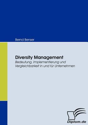 Diversity Management   2008 9783836663458 Front Cover
