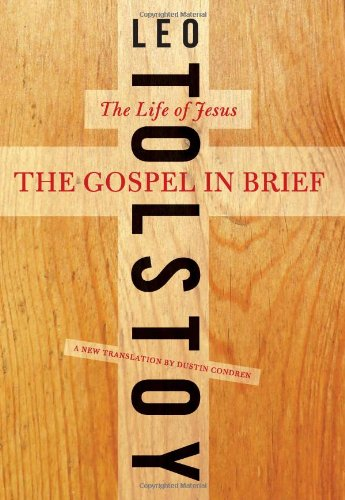 Gospel in Brief The Life of Jesus  2011 edition cover