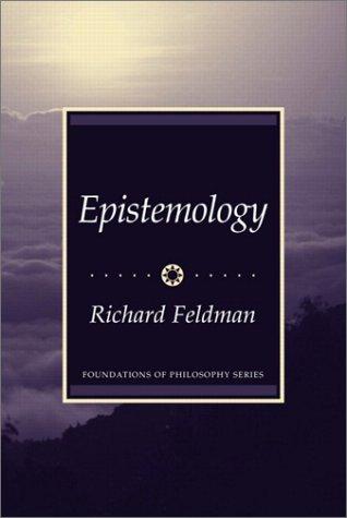Epistemology   2003 edition cover