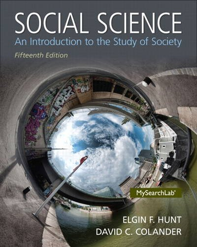 Social Science: An Introduction to the Study of Society  2013 edition cover