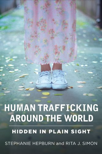 Human Trafficking Around the World Hidden in Plain Sight  2013 edition cover