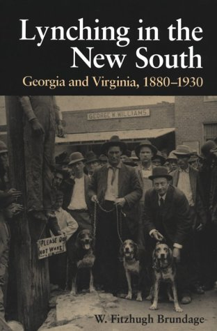 Lynching in the New South Georgia and Virginia, 1880-1930 N/A edition cover