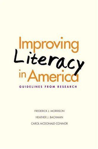 Improving Literacy in America Guidelines from Research  2005 edition cover
