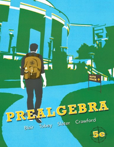 Prealgebra  5th 2012 (Revised) edition cover