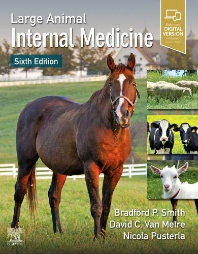 Large Animal Internal Medicine  6th 2020 9780323554459 Front Cover