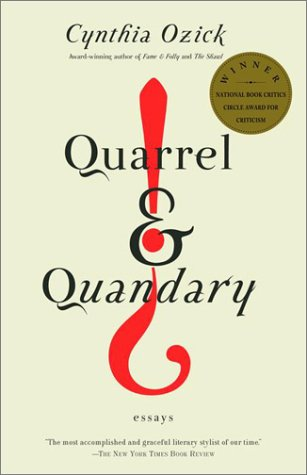 Quarrel and Quandary Essays N/A edition cover