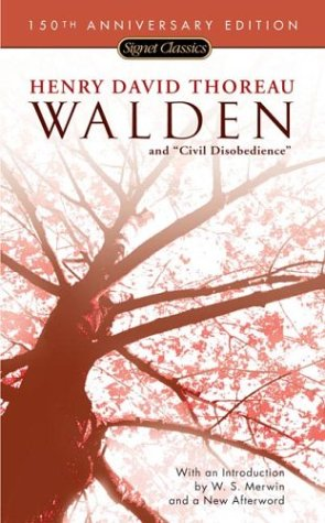 Walden and Civil Disobedience   1999 edition cover