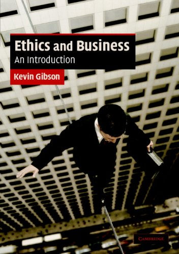 Ethics and Business An Introduction  2007 edition cover