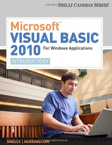 Microsoft� Visual Basic 2010 or Windows Applications Introductory  2011 9780538468459 Front Cover