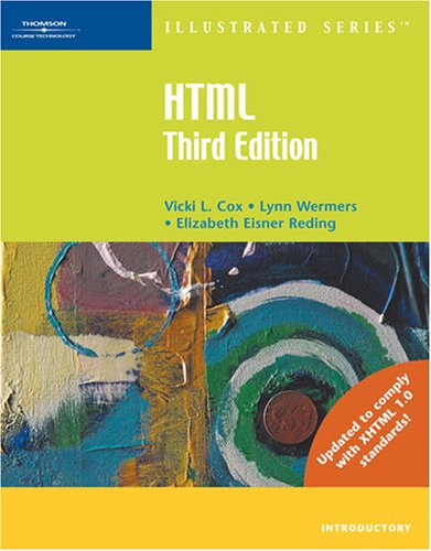 HTML Illustrated Introductory  3rd 2007 (Revised) edition cover