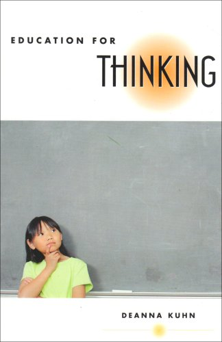 Education for Thinking   2005 edition cover