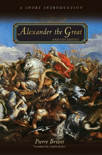 Alexander the Great and His Empire A Short Introduction  2010 edition cover