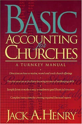 Basic Accounting for Churches A Turnkey Manual N/A edition cover