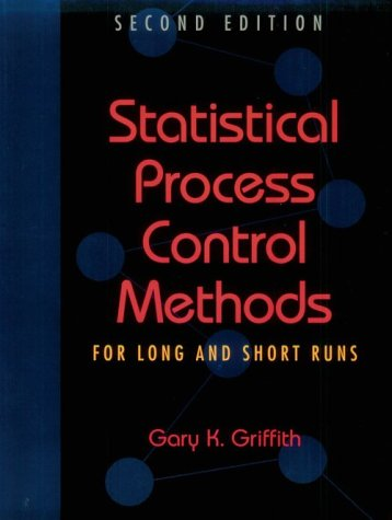 Statistical Process Control Methods for Long and Short Runs  2nd 1996 edition cover