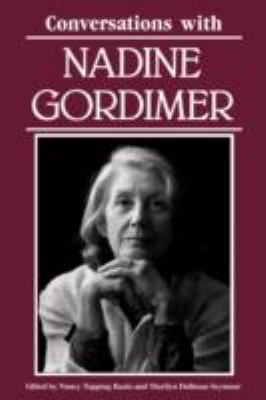 Conversations with Nadine Gordimer   1990 9780878054459 Front Cover