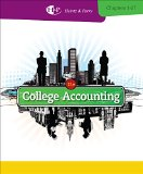 College Accounting, Chapters 1-27 + Cengagenow, 2 Terms Printed Access Card:   2013 edition cover