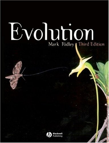 Evolution  3rd 2004 (Revised) edition cover