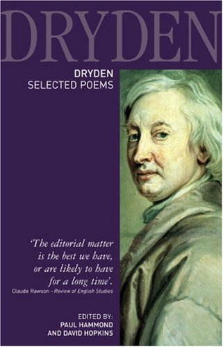 Dryden Selected Poems  2006 9781405835459 Front Cover