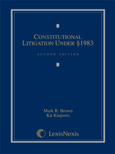 Constitutional Litigation under [section] 1983 2nd 2008 edition cover