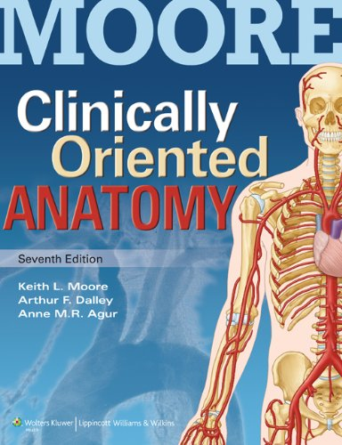 Clinically Oriented Anatomy  7th 2014 (Revised) edition cover
