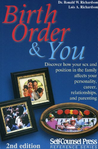Birth Order and You  2nd 2000 (Revised) edition cover