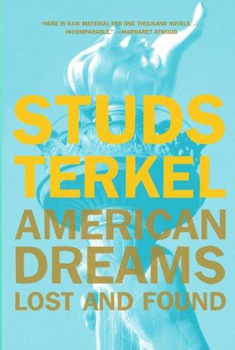 American Dreams Lost and Found  1999 edition cover