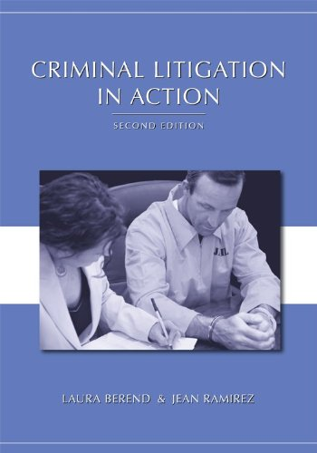 Criminal Litigation in Action  2nd 2011 edition cover