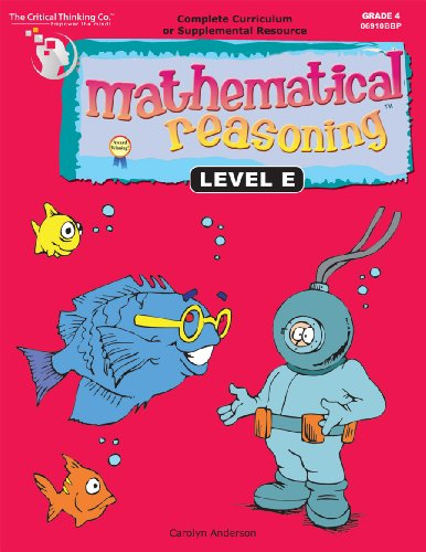 MATHEMATICAL REASONING:LEVEL E N/A edition cover